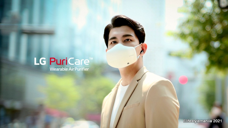 LG PuriCare Wearable Air Purifier with VoiceON